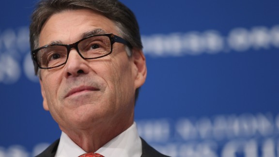 Former Texas Governor and Republican presidential candidate Rick Perry addresses the National Press Club Luncheon July 2, 2015 in Washington, D.C.