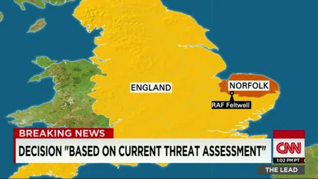 British Base Cancels July 4 Celebrations Given Threats Cnnpolitics