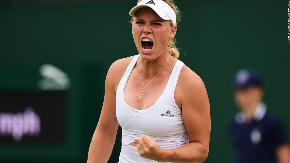 Caroline Wozniacki, another former world No. 1, kept up her bid for a first grand slam title by beating Czech debutant Denisa Allertova. The Dane will play Italian 31st seed Camila Giorgi in round three.