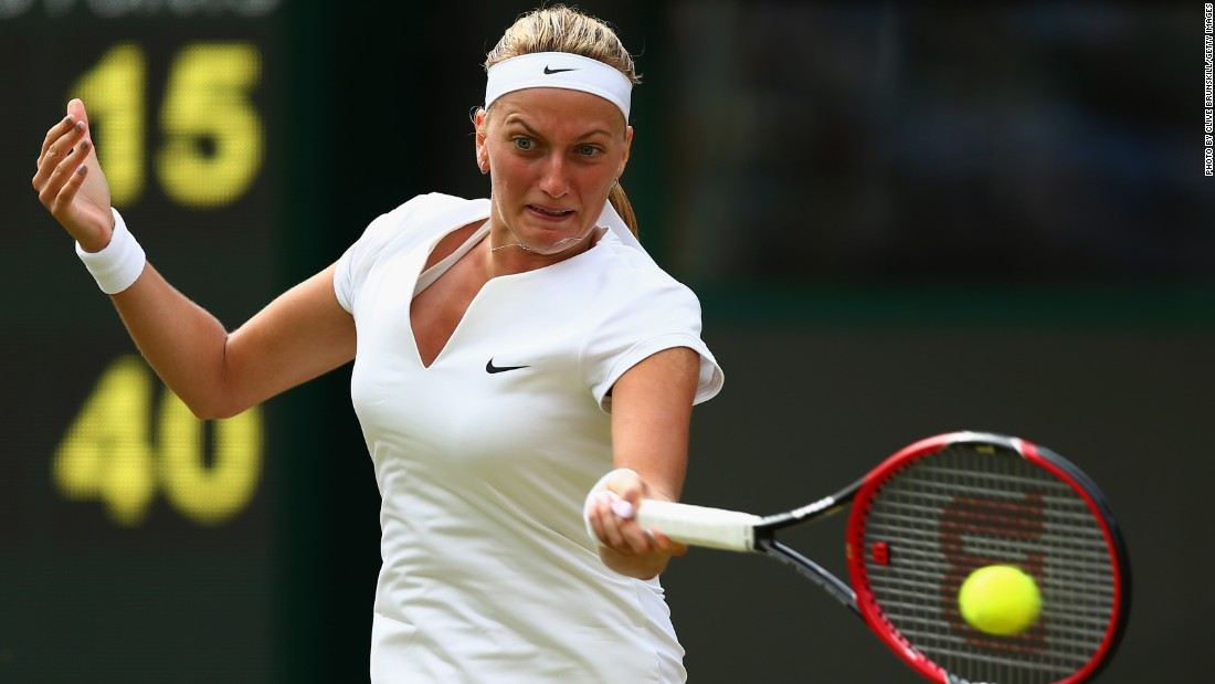 Women's champion Petra Kvitova also progressed into round three, beating Japan's Kurumi Nara 6-2 6-0.