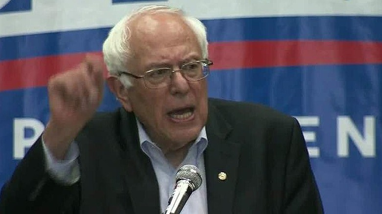 Bernie Sanders gaining momentum in presidential race