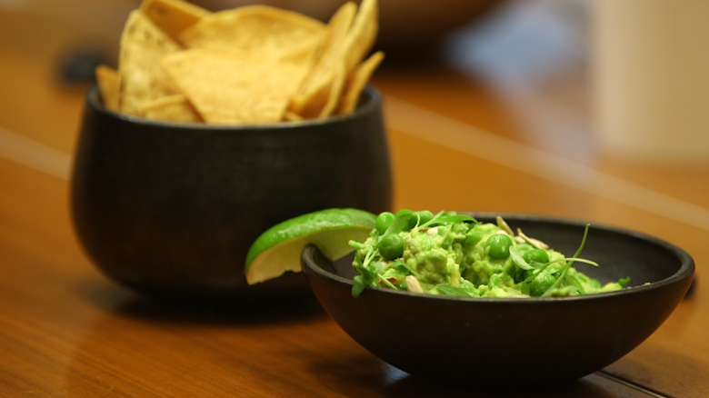 Make peace with putting peas in your guacamole