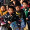 china elementary school  students
