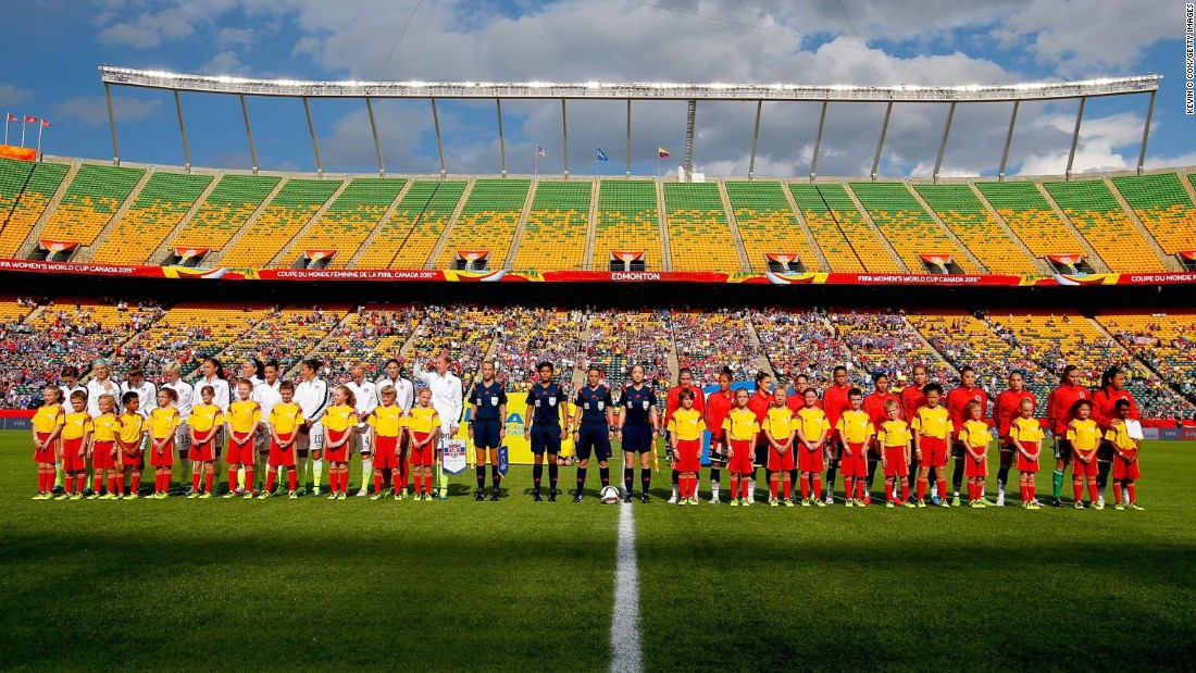 "Yellowknife's 22 players were invited to become World Cup mascots by FIFA after the club bought a block of tickets to watch the game. ""I was jealous,"" admitted coach Joe Acorn."