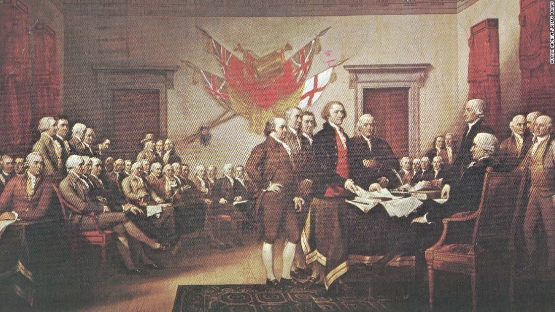 "The Enlightenment movement, which questioned traditional authority and embraced rationalism, heavily influenced The Declaration of Independence. In breaking away from Great Britain, Thomas Jefferson called on the ""certain unalienable rights"" of ""life, liberty and the pursuit of happiness."" These rights varied only slightly from the rights of ""life, liberty and property"" British philosopher John Locke laid out in his 1689 ""Two Treatises of Government."""