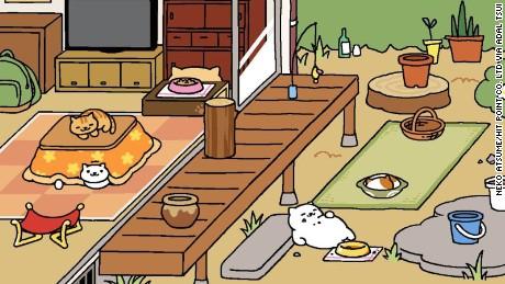 Bandai Neko Atsume: Kitty Collector: Ouchi de Neko Atsume
