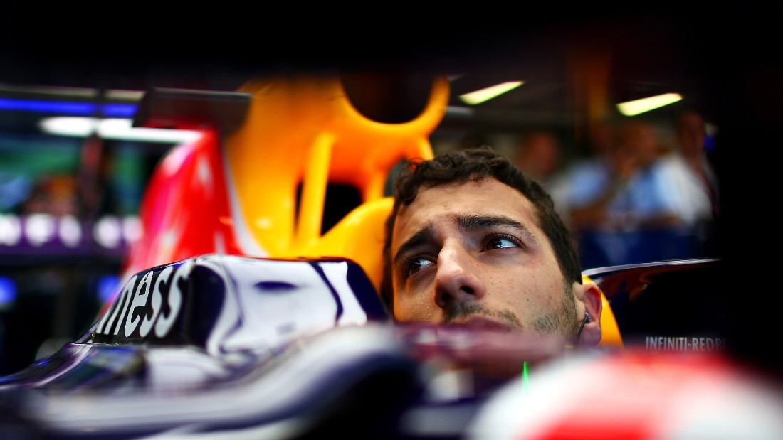 Red Bull driver Daniel Ricciardo is curreently seventh in the drivers' championship.