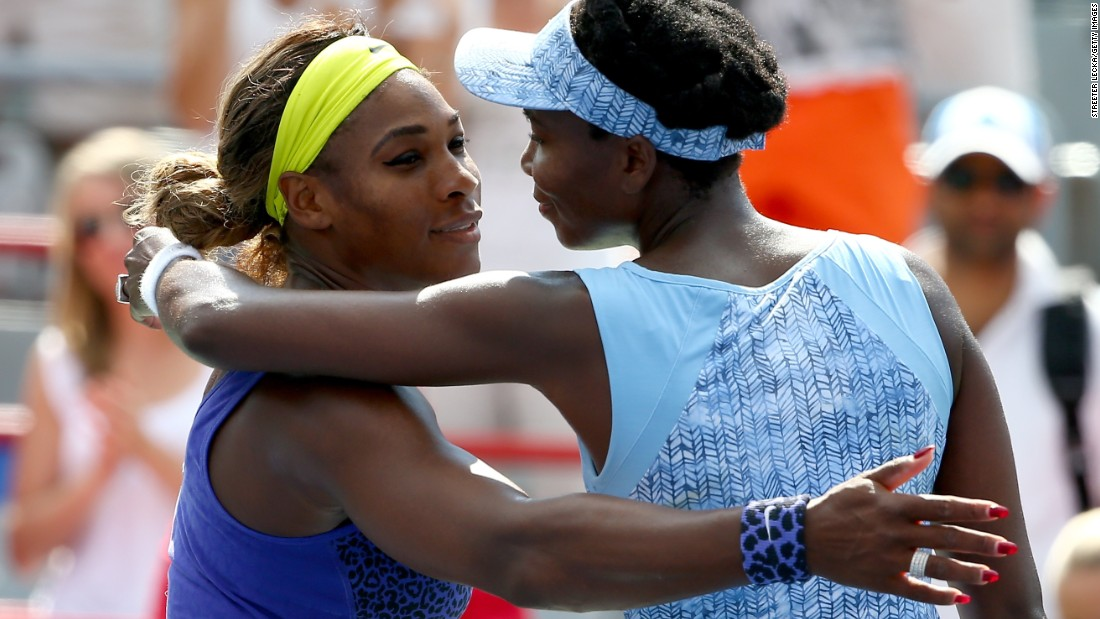 Serena leads Venus 14-11 in their head-to-heads but Venus won their last encounter one year ago in Montreal.