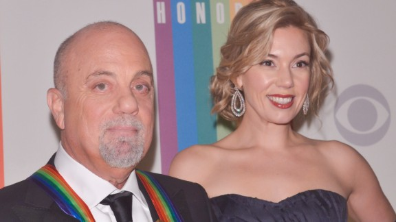 Billy Joel and Alexis Roderick got married during a July Fourth party at Joel's Long Island estate. New York Gov. Andrew Cuomo, a longtime friend, presided over the ceremony. It's the fourth marriage for Joel, 66. One of his ex-wives, Christie Brinkley, even posted online wishing congratulations to Joel and Roderick, 34.
