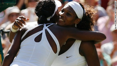 Serena Williams beat sister Venus in the 2009 final -- the last time they met at Wimbledon or in a grand slam.
