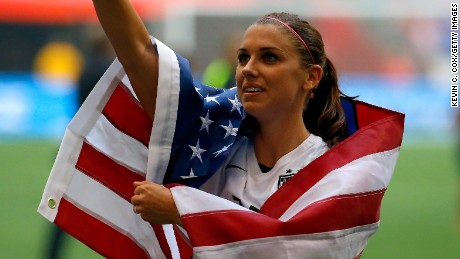 8cb5db095 She was a World Cup winner with the USWNT and now Alex Morgan is the cover
