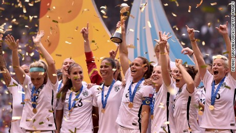 U.S. World Cup triumph should level playing field for women's sports