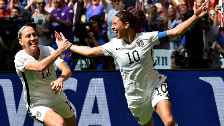 8f92a37f124 Carli Lloyd  What you need to know about World Cup hero - CNN