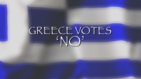 Global markets slide on Greek 'No' vote