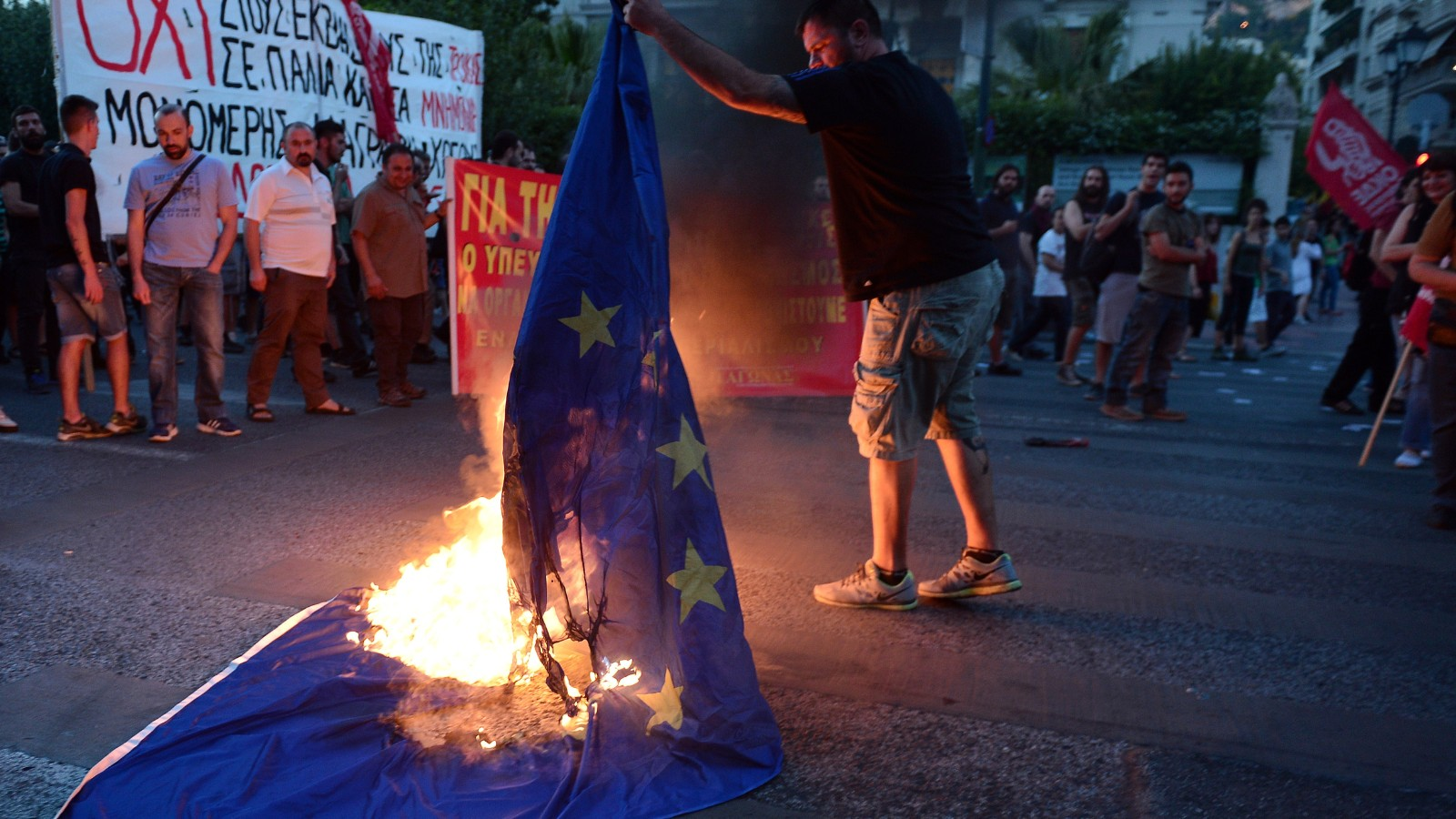 Eurozone Safe From Grexit Think Again Cnn