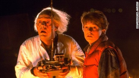 """Back to the Future"" screenwriter Bob Gale will be teaming up with CNN to answer your questions."