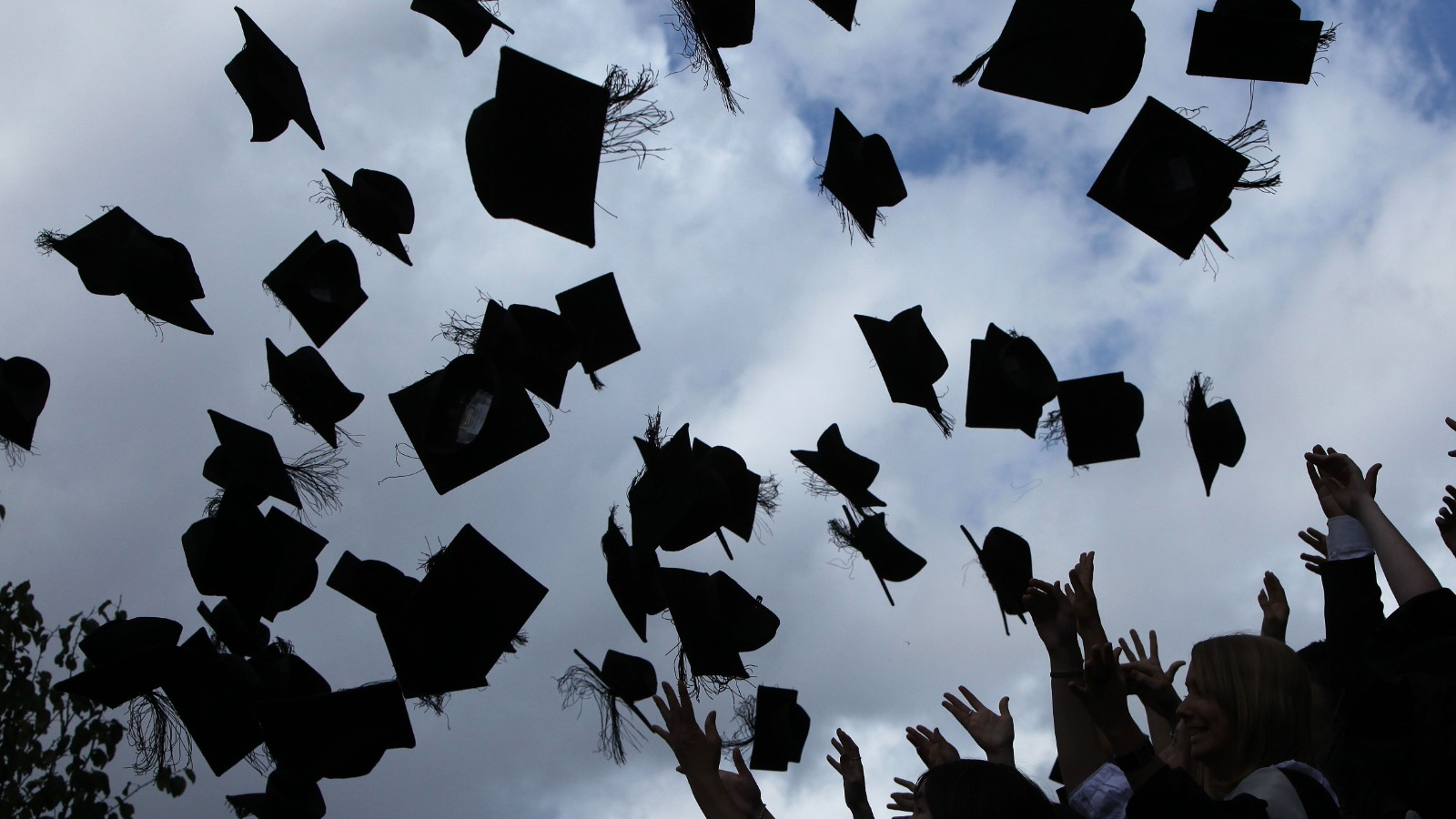 Image result for throwing graduation caps gif