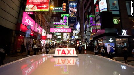 A number of former convicts now drive cabs around the city of 7 million.
