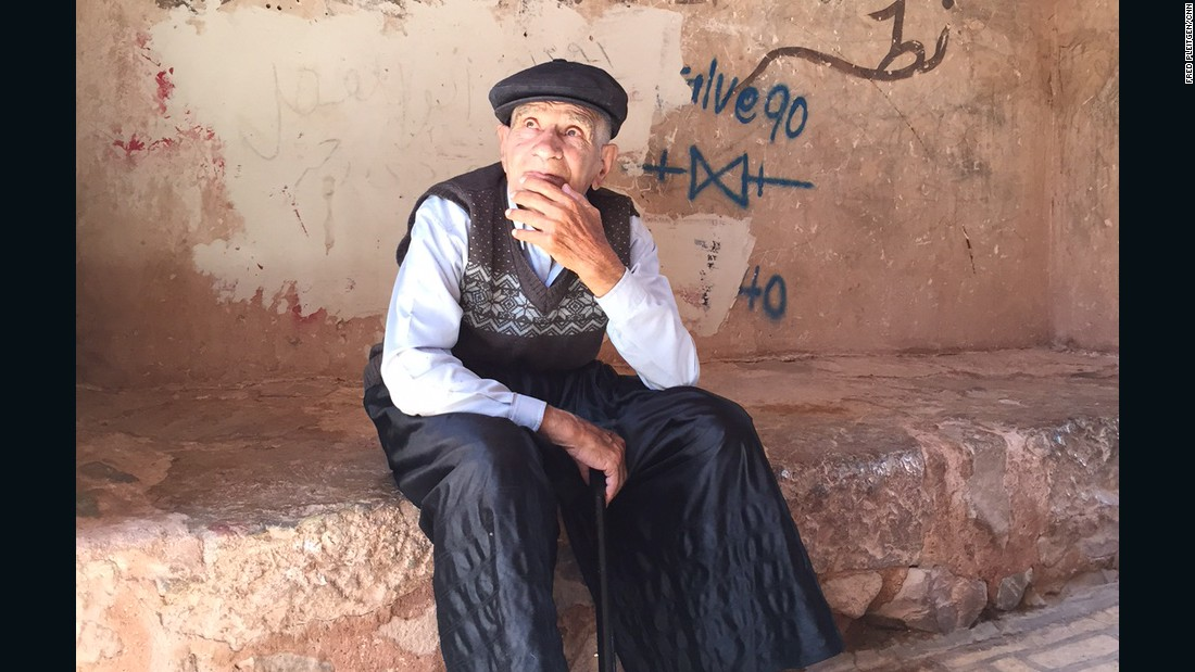 Abyaneh has a history of almost 4,000 years. The 84-year-old man pictured here is the oldest person in the village.