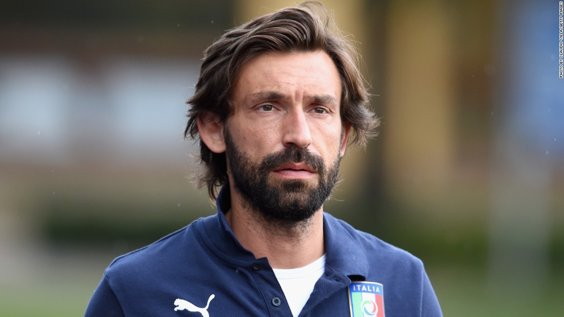 Andrea Pirlo completes his move from Juventus to MLS side New York City FC. The 36-year-old joins up with Frank Lampard and David Villa.