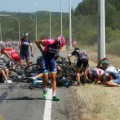 tour de france day 3 crash 2