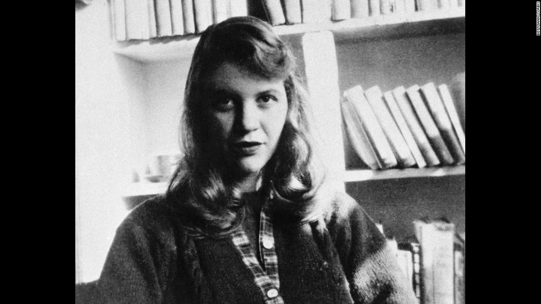 "American writer <strong>Sylvia Plath</strong> published ""The Bell Jar"" in the UK under a pseudonym in 1963, although it wasn't released in the U.S. until 1971. The semi-autobiographical novel explored a woman's descent into mental illness and depression. Plath committed suicide shortly after the book was first published."