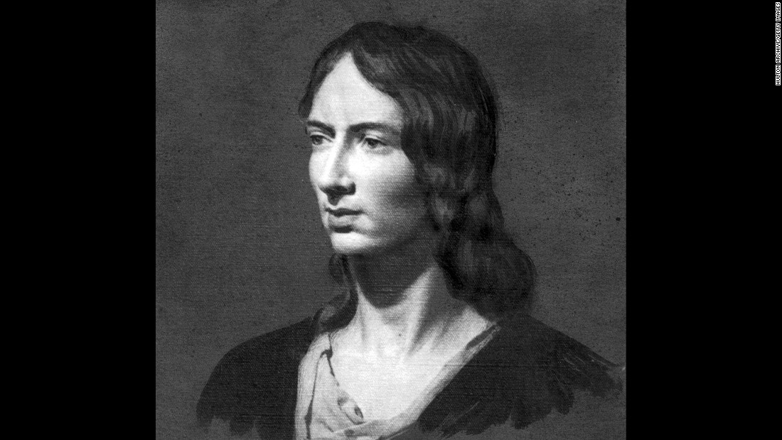 "<strong>Emily Bronte</strong> was one of three sisters, all of whom published works under male pseudonyms. Her only novel, ""Wuthering Heights,"" was published in 1847 and challenged strict social norms in England at the time."