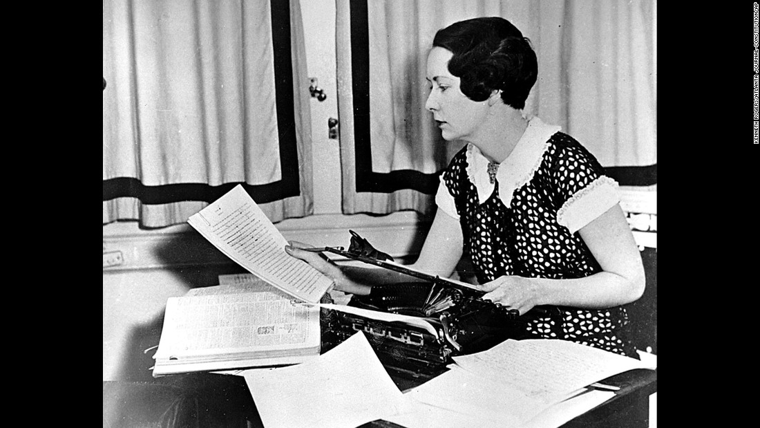 "Despite the fact that she wrote two novellas, <strong>Margaret Mitchell</strong> was best known for her epic novel, ""Gone with the Wind,"" named in a 2014 survey as Americans' second-favorite book after the Bible. The 1939 blockbuster movie adaptation only cemented the book's legacy."