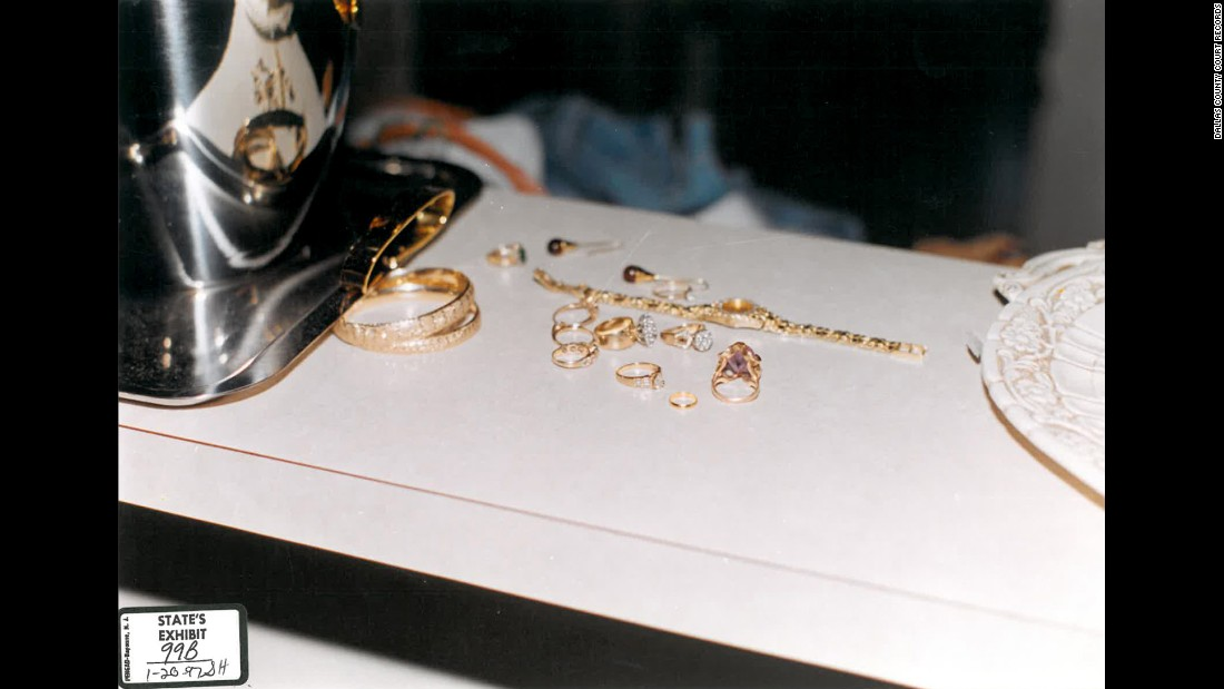 In court, prosecutors argued that Routier had fabricated the story of an assailant, because valuable jewelry had been left untouched on the kitchen counter.