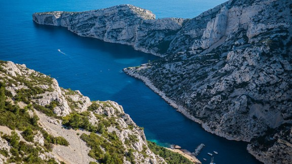 The Mediterranean seaport of Marseille is complete with Roman ruins and medieval architecture. The city