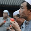 China ramadan beijing mosque man