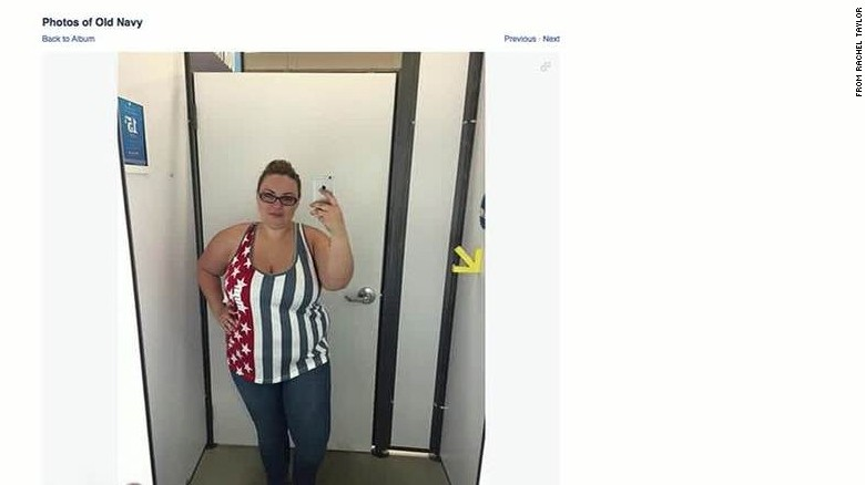 Woman's plus-sized Old Navy selfie goes viral daily hit newday _00003803