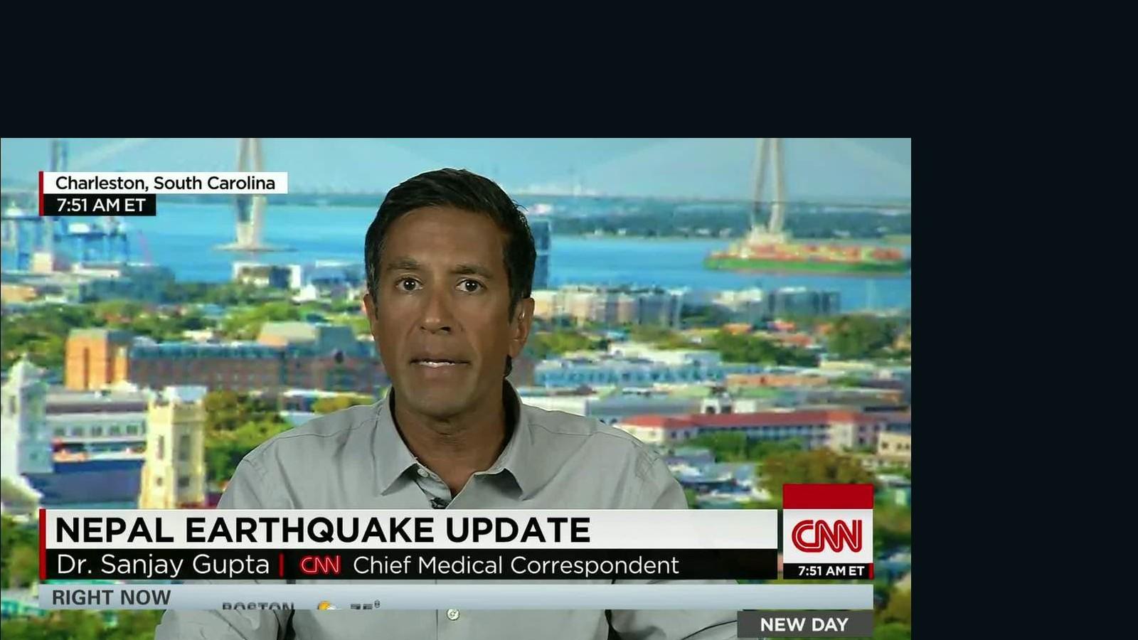 CNN Update: Sanjay Gupta: Nepal Earthquake Update