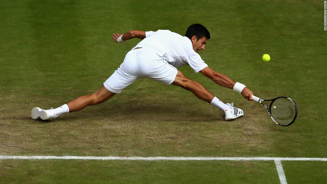 Defending champion Novak Djokovic went to five sets against Kevin Anderson in the fourth round but had an easier day against Marin Cilic on Wednesday, winning in straight sets.