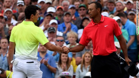 As the Open Championship nears, Rory McIlroy (left) and Tiger Woods are struggling with fitness and form respectively.