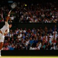 Djokovic serve