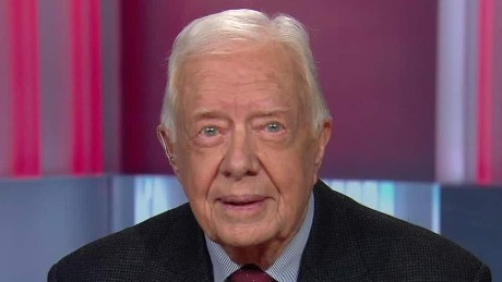 Former President Carter: Donald Trump a 'flash in the pan'