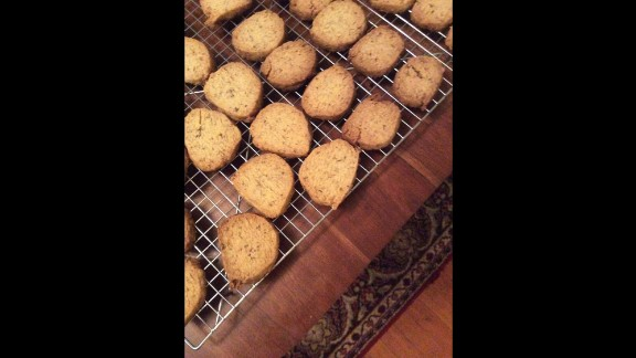 """""""Jumballs"""" have become one of Nicosia's favorites, even becoming a regular part of her holiday cookie baking. These spiced cookies are very similar to shortbread."""