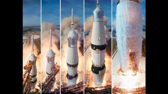 At 9:32 a.m. on July 16, 1969, NASA