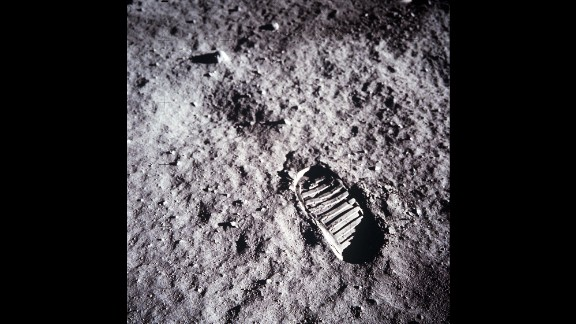 A close-up view of Aldrin