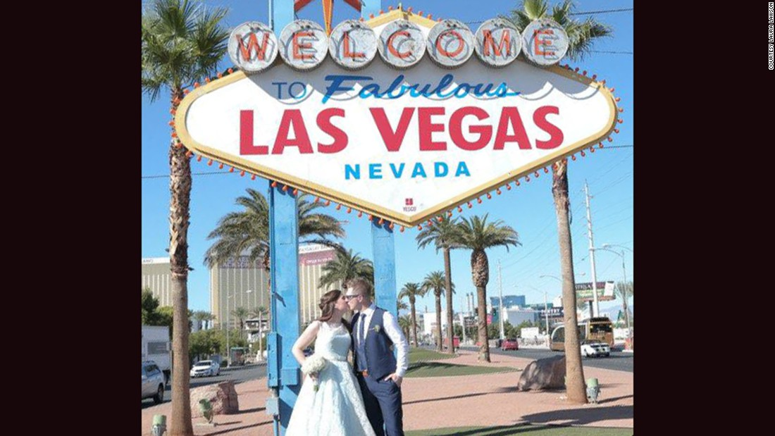 Lawson got married in Las Vegas in 2014.