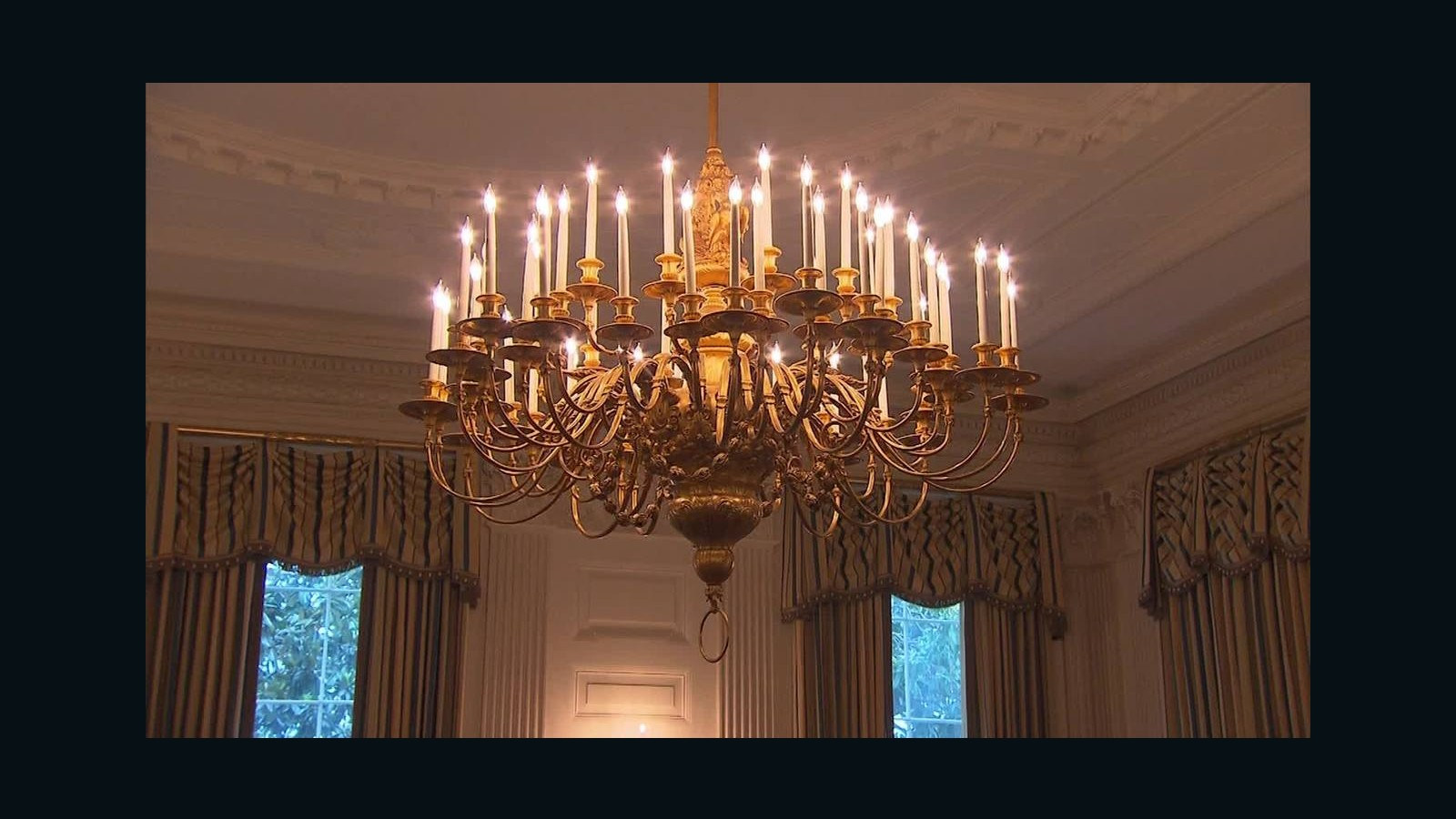 State Dining Room In The White House