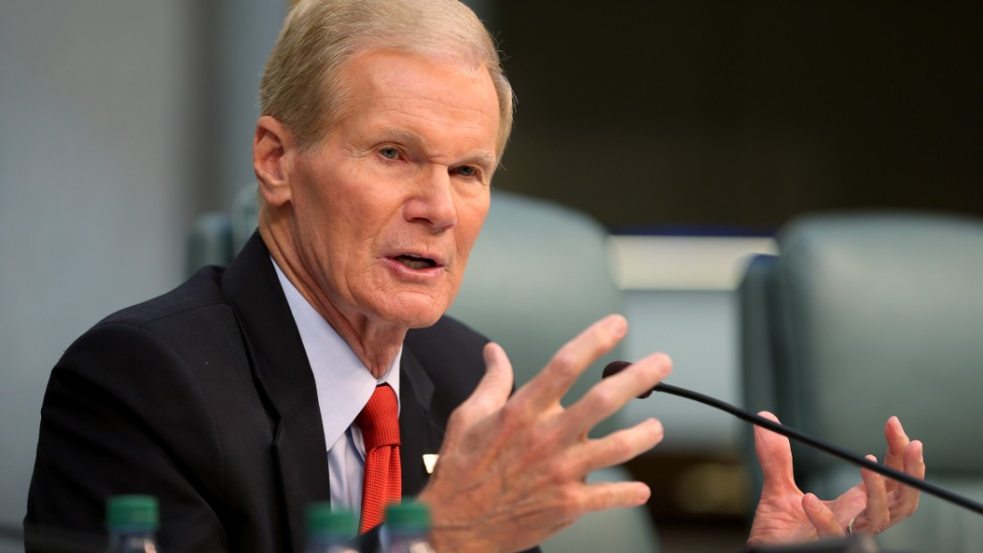 U.S. Sen. Bill Nelson (D-FL) speaks as he chairs a hearing entitled, 'Leading the Way: Adapting to South Florida's Changing Coastline.' by the U.S. Senate Committee on Commerce, Science, and Transportation's Subcommittee on Science and Space at Miami Beach's City Hall on April 22, 2014 in Miami Beach, Florida.