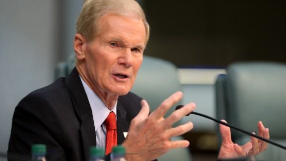 U.S. Sen. Bill Nelson (D-FL) speaks as he chairs a hearing entitled,