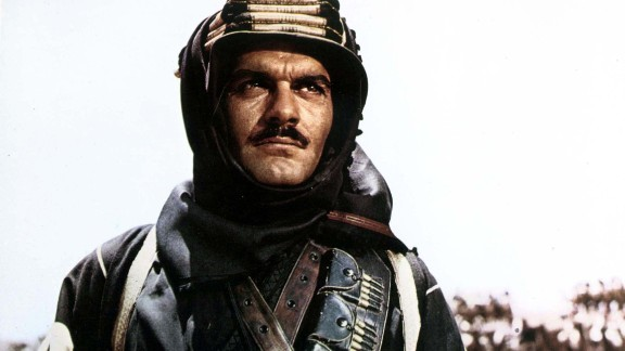 Egyptian actor Omar Sharif, who co-starred with Peter O