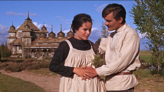 "Sharif also made 1965's ""Doctor Zhivago"" with ""Arabia"" director David Lean. The epic film about a Russian physician was one of the biggest box office hits of the '60s. Sharif is shown here with co-star Geraldine Chaplin."
