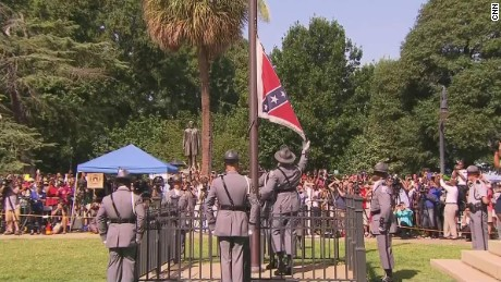 Watch Confederate flag come down from South Carolina's capitol