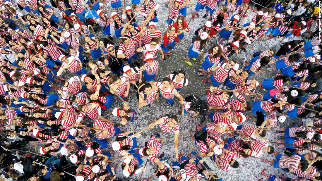 "<strong>1st Prize Winner, Dronies category</strong>: <a href=""http://www.dronestagr.am/wheres-wally-limassol-carnival-cyprus/"" target=""_blank"">""Where's Wally?""</a> at the Limassol Carnival in Cyprus"