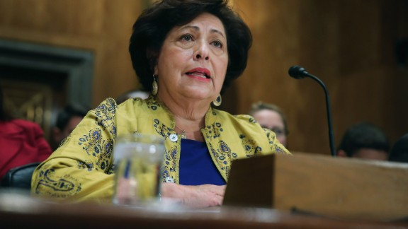 """Katherine Archuleta, director of the Office of Personnel Management, <a href=""""http://www.cnn.com/2015/07/10/politics/opm-director-resigns-katherine-archuleta/index.html"""" target=""""_blank"""">resigned</a> July 10, a day after revealing a data breach of government computers was vastly larger than originally thought."""