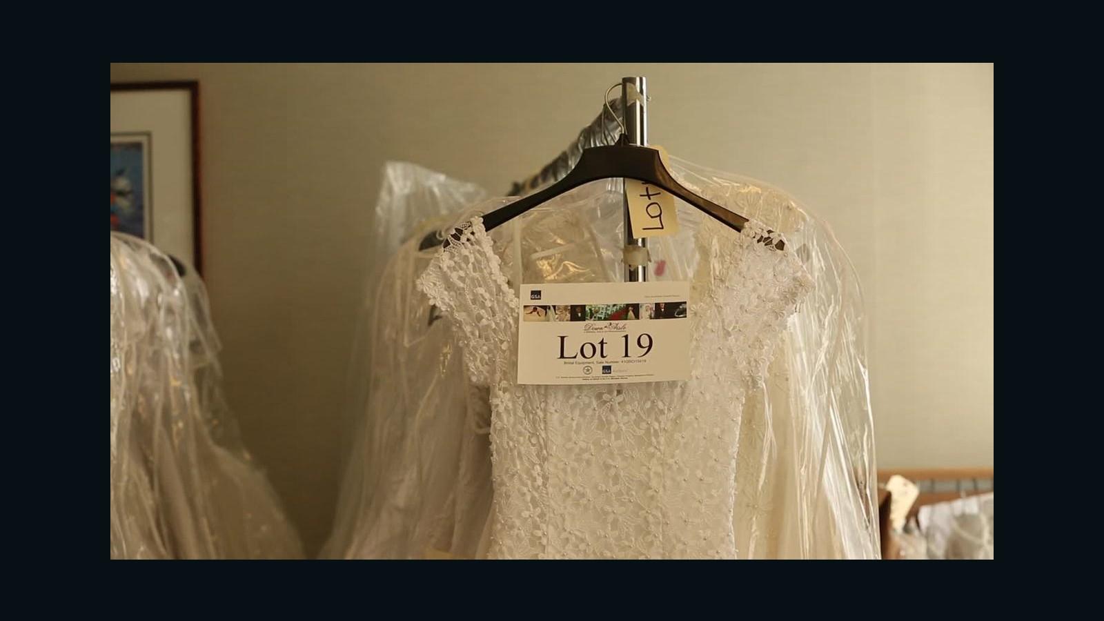 Drug bust leads to wedding dress sale - CNN Video